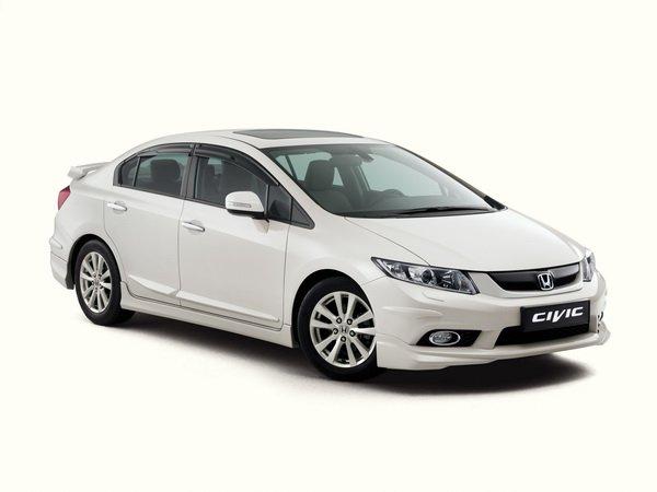 Хонда Цивик 4Д 9 поколения 1.8 i-VTEC. Технические характеристики. Комплект ...