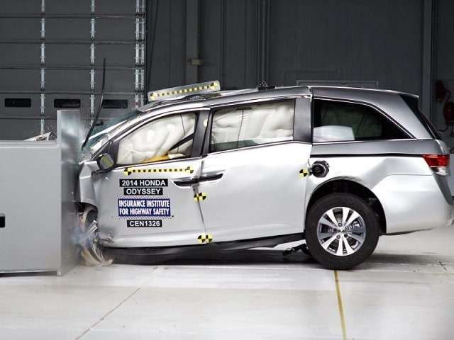 Автомобили Honda получили шесть наград Top Safety Pick+ от IIHS