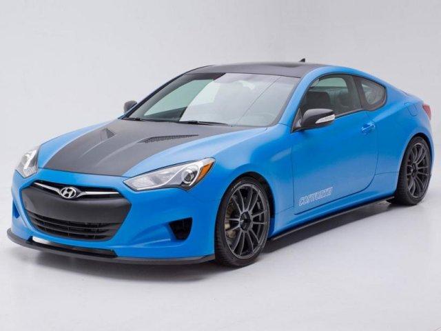 Hyundai выпустил 1000-сильный Genesis Coupe
