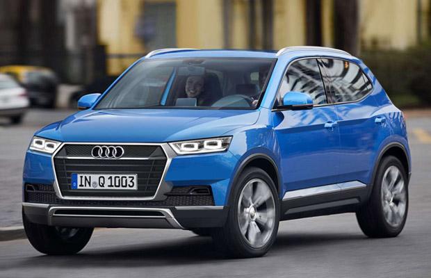 Audi создаст кроссовер Q1 к 2016 году