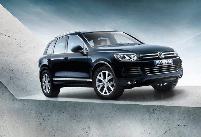 Юбилейный Volkswagen Touareg Edition X теперь и в России