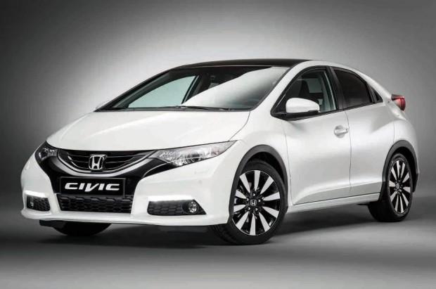 Honda показала обновленный хэтчбек Civic