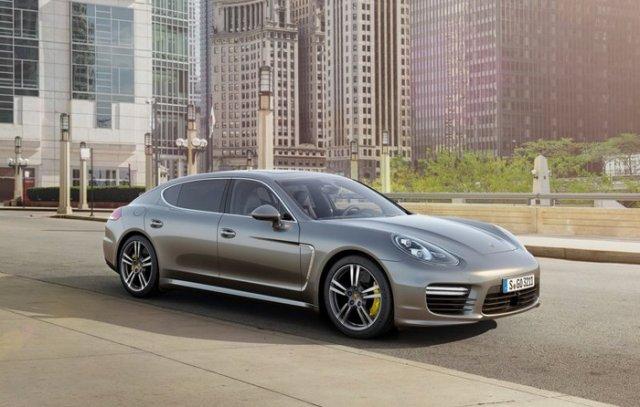 Компания Porsche обновила Panamera Turbo S