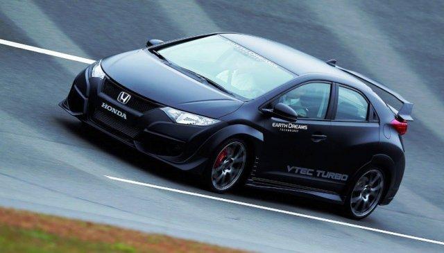 Honda рассекретила предсерийную версию Civic Type R 2015