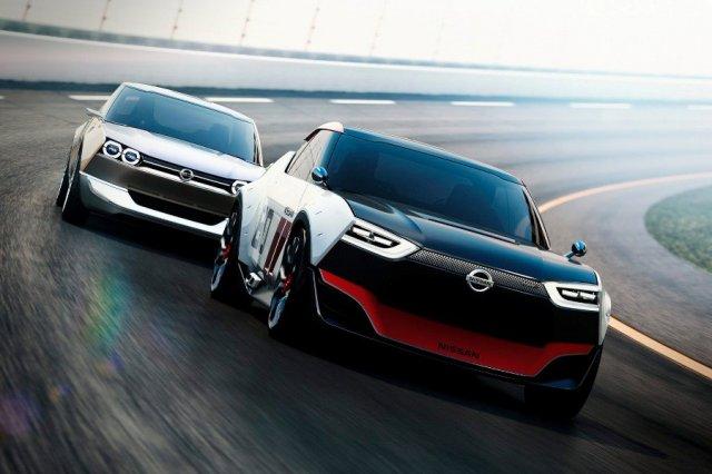 Nissan представил в Токио два компактных купе