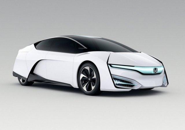 Honda представила концепт FCEV