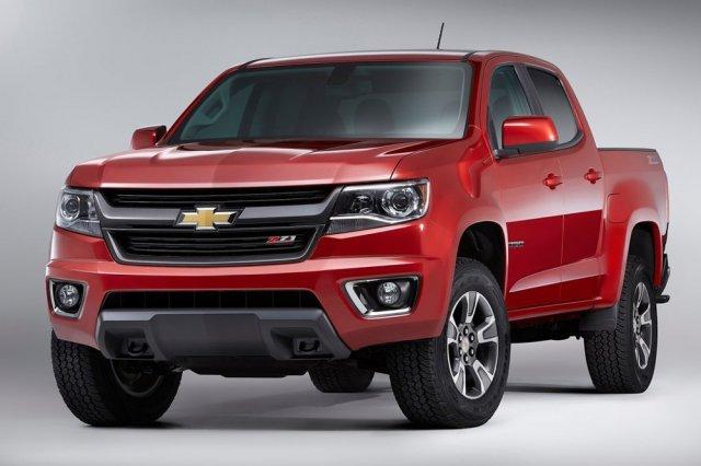 Обновленный пикап Chevrolet Colorado 2015