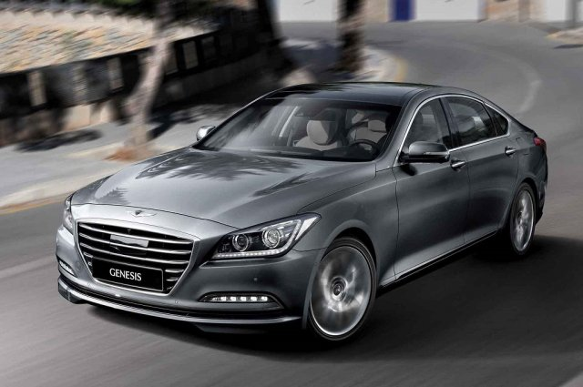 Hyundai представил новый Genesis