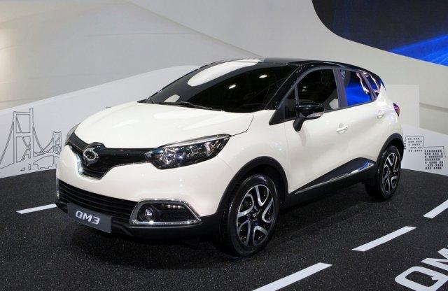 Кроссовер Renault Captur появился в Корее под именем Samsung QM3