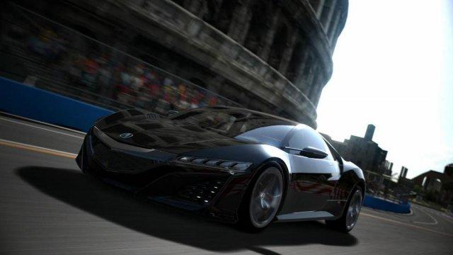 Acura NSX впервые появилась в Gran Turismo 6