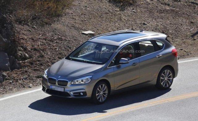 Рассекречен первый BMW с передним приводом