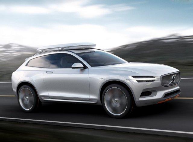 Volvo показал Concept XC Coupe