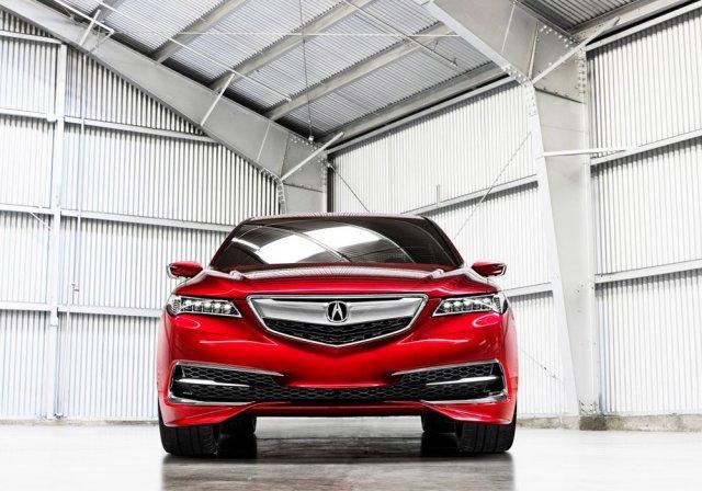 Acura представила предсерийный TLX
