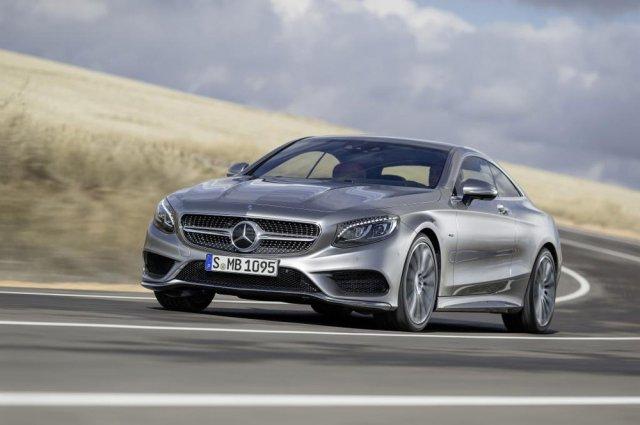 Mercedes-Benz показал S-Class Coupe