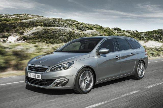 Появились данные о новом Peugeot 308 SW
