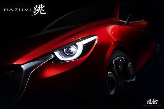 Дерзкий взгляд новой Mazda2
