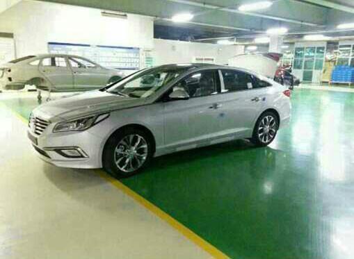 Hyundai Sonata 2015: первый взгляд