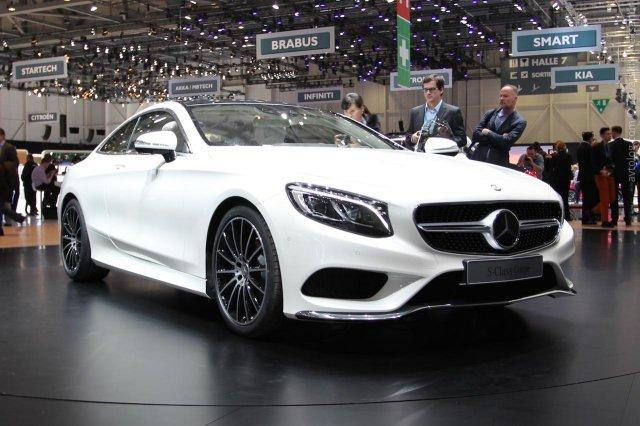 Самое большое купе от Mercedes-Benz