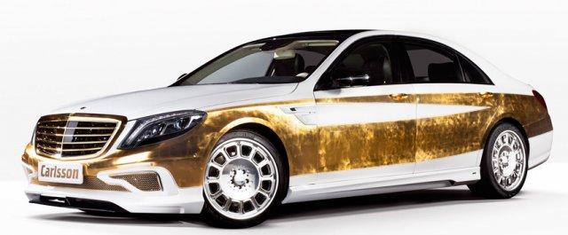 Золотой Mercedes-Benz от Carlsson