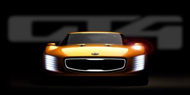 Европейская премьера KIA GT4 Stinger