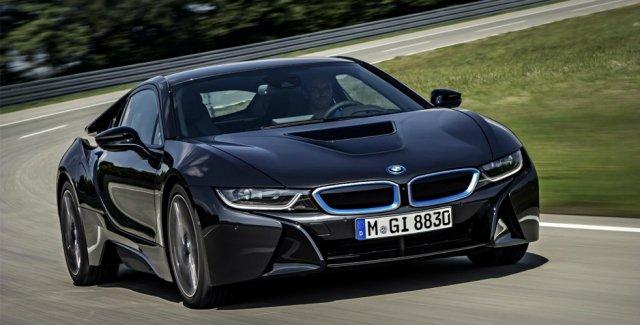 BMW i8 появится на рынке в июне
