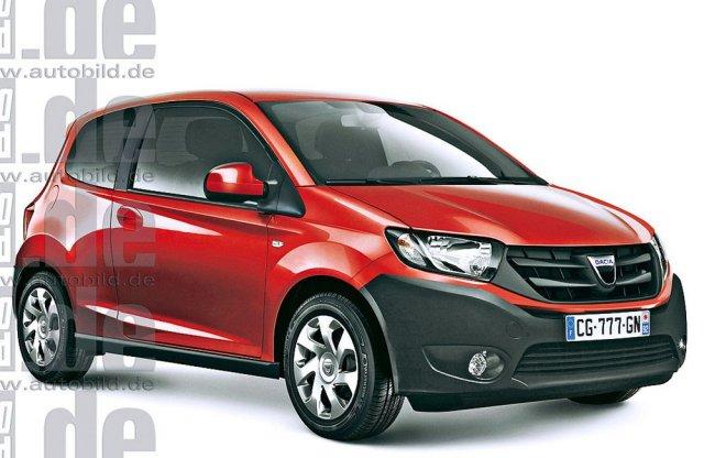 Dacia выпустит модель на базе Renault Twingo