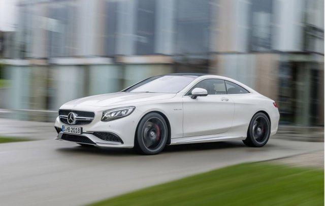 Mercedes позал S63 AMG Coupe