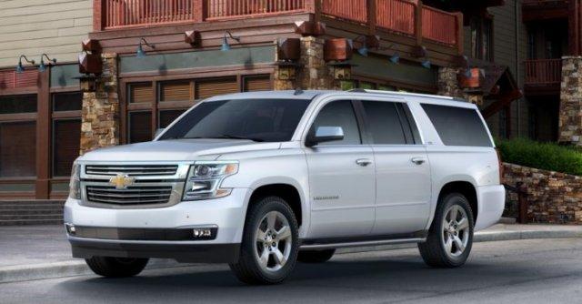 Chevrolet Tahoe для рынка России