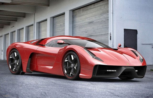 Дизайнерская экстремальная версия Ferrari 458
