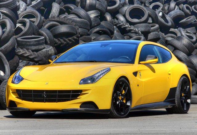 Ferrari работает над купе FF?