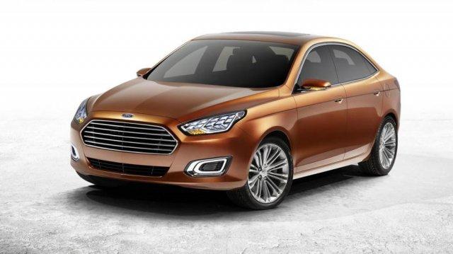 Серийная версия Ford Escort Concept в Пекине