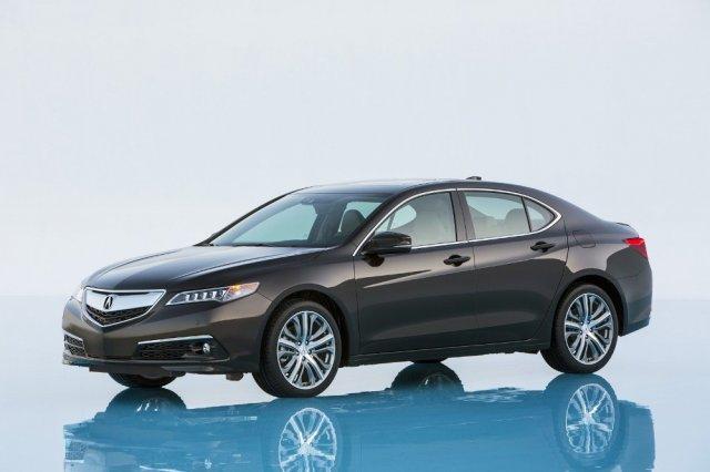 Серийная версия нового седана Acura
