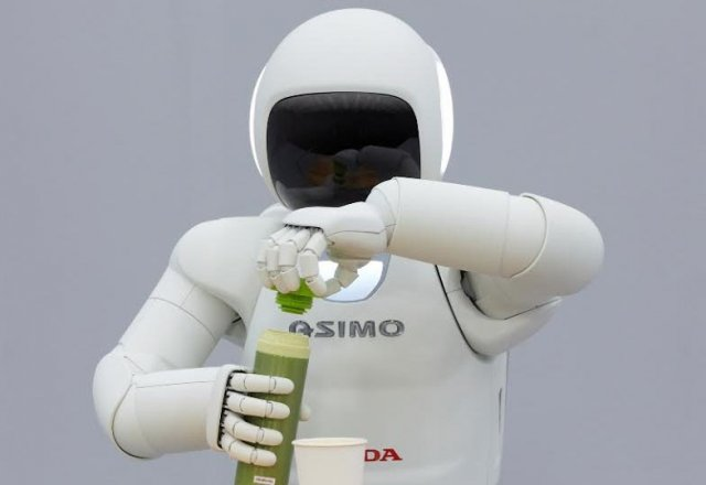 Asimo от Honda: теперь еще