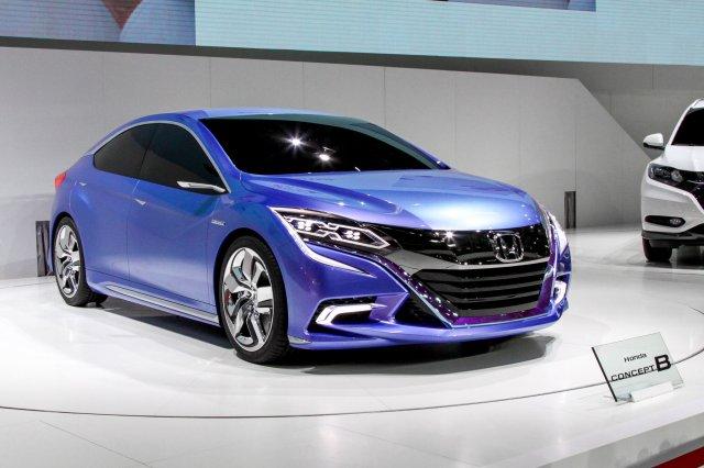 Honda в Пекине: новый хэтчбек и Accord для Китая