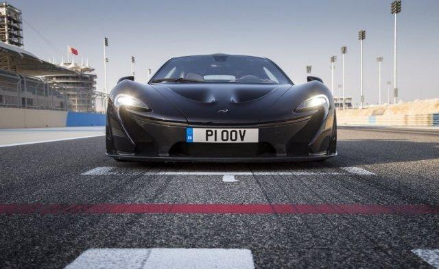 McLaren работает над трековым P1