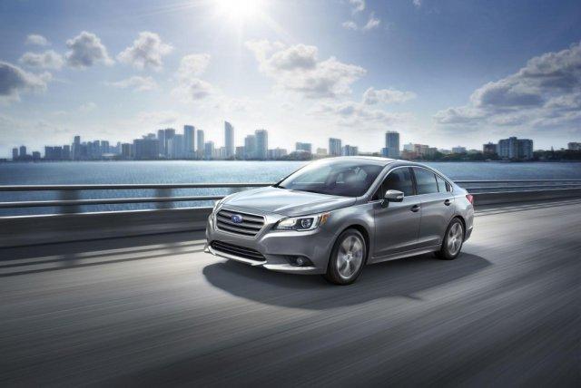 Subaru объявила стоимость седана Legacy 2015
