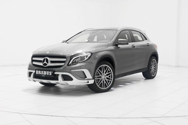 Brabus поработал над Mercedes-Benz GLA