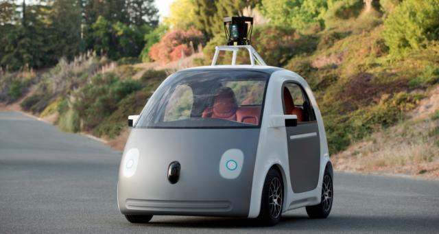 Google показал собственный робомобиль