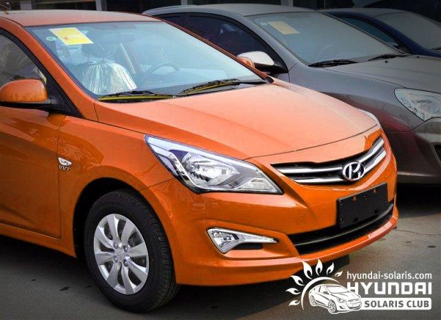Hyundai Solaris: первые фото