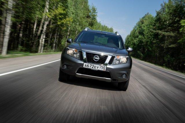 Nissan Terrano доступен в России