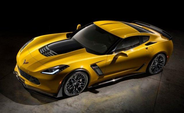 Характеристики Chevrolet Corvette Z06 2015