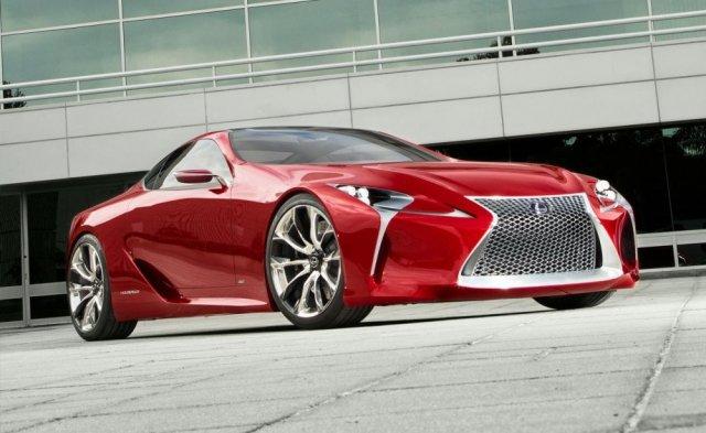 Lexus LF-LC пойдет в серию