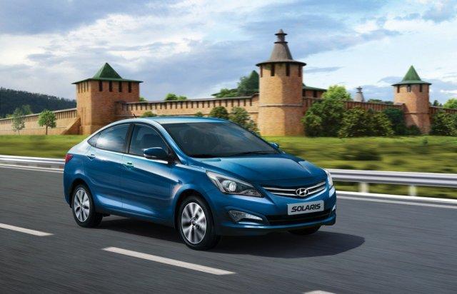 Hyundai показал обновленный Solaris