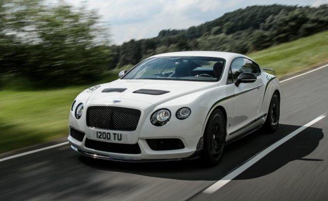 Bentley рассекретил Continental GT3-R