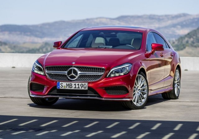 Обновленный Mercedes-Benz CLS-Class