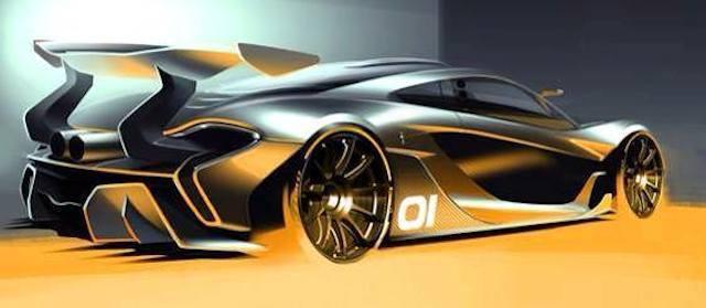 McLaren представил экстремальный P1 GTR