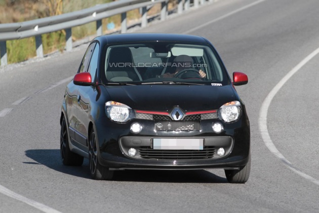 Renault тестирует «горячего» Twingo