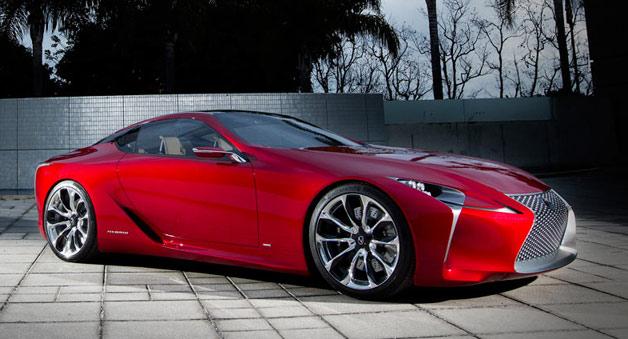 Седан Lexus LS нового поколения сильно изменится