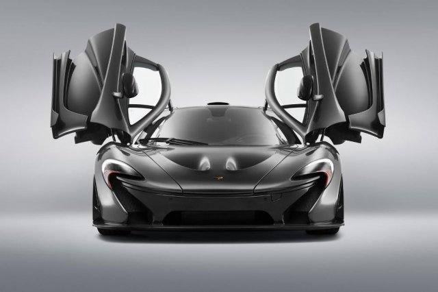 McLaren покажет спецверсии P1 и 650S Spider