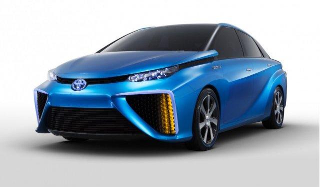 Toyota Mirai: японский водородомобиль
